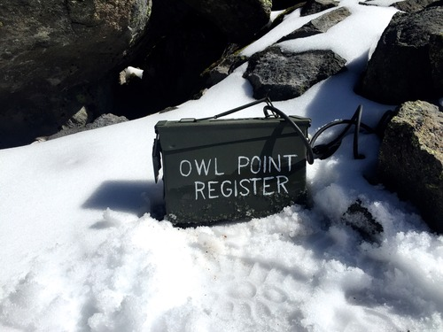 Medium owl point register